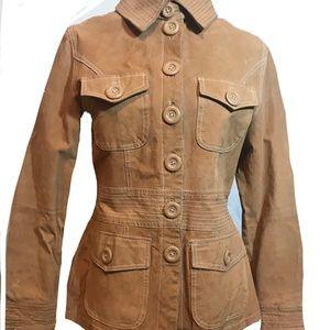 Jackets & Blazers - Tan Suede Jacket / Blazer Sz M 🧥